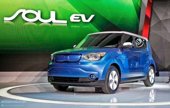 КIA Soul EV 2013