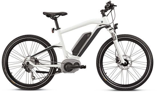 Марката i на BMW патентова колелото eBike