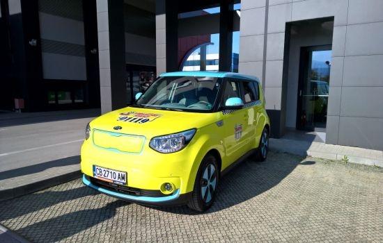 Електрическо такси в София след успешен тест