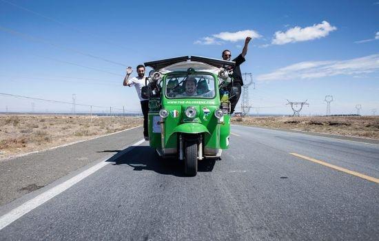 Електромобилните ентусиасти Pilgreens са в България