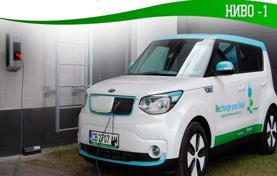Първа безплатна зарядна станция в търговски център в София