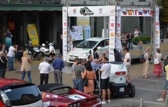 Електромобили на старт в ЕКО рали 2016-България